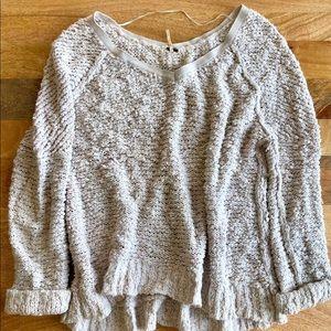 Free People chunky knit sweater